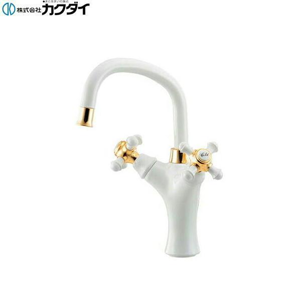 [150-452]カクダイ[KAKUDAI]2ハンドル混合栓[送料無料]