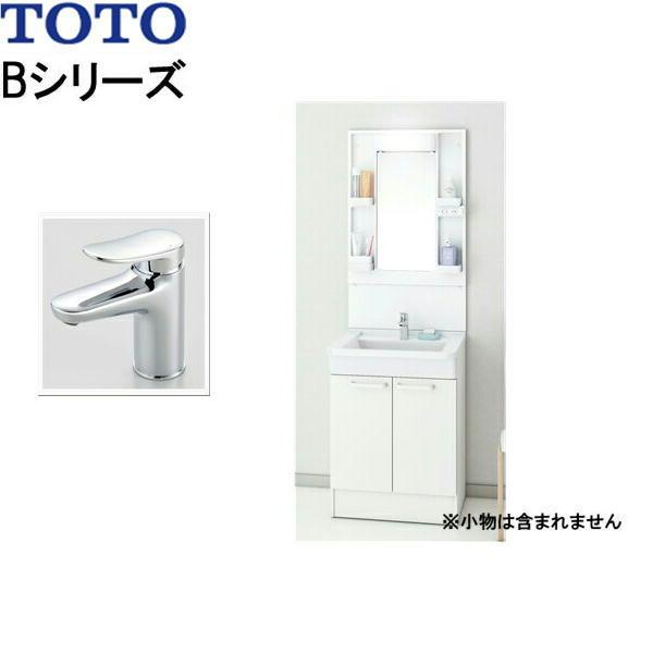 [LDBA060BAGMN(S)1A+LMBA060B1GDC1G]TOTO[Bシリーズ]洗面化粧台[間口600mm][エコシングル混合水栓][送料無料]