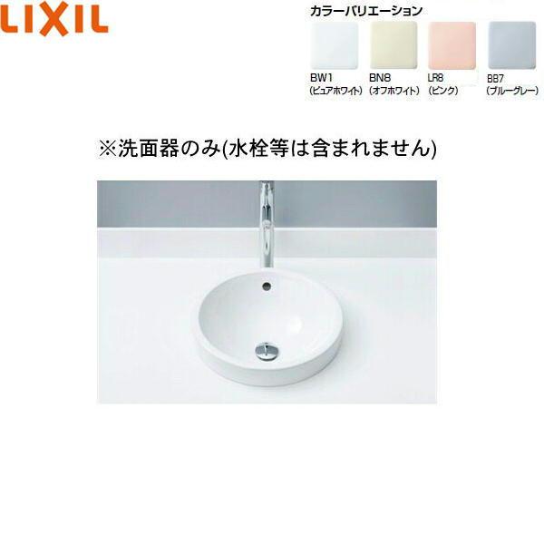 [L-2841]リクシル[LIXIL/INAX]円形洗面器[ベッセル式]