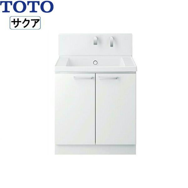 本店は [LDSWB075BAGEN1A]TOTO[SAKUAサクア]洗面化粧台のみ[間口750][ホワイト][送料無料]:激安通販!住設ショッピング-木材・建築資材・設備