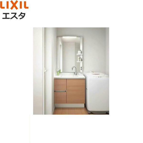 リクシル[LIXIL/INAX][エスタ]洗面化粧台などセット06[合計2点]コンポタイプ[間口750mm][送料無料]