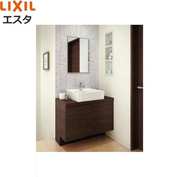 リクシル[LIXIL/INAX][エスタ]洗面化粧台などセット09[合計3点]コンポタイプ[間口900mm][送料無料]