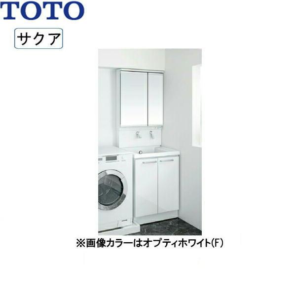 [LDSWB060BAGEN1+LMWB060B2GLC2G]TOTO[SAKUAサクア]洗面化粧台セット10[間口600][ハイクラス][送料無料]