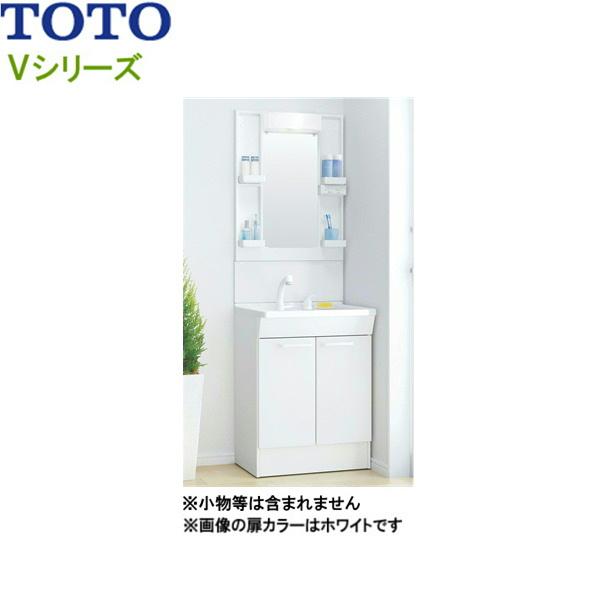 [LDPB060BAGEN1A+LMPB060B1GDC1G]TOTO[Vシリーズ]洗面化粧台[間口600mm][エコシングルシャワー水栓][一般地仕様][ホワイトA][送料無料]