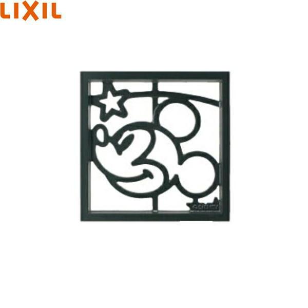 [SBFY63(NNA022G)]リクシル[LIXIL]ブロック飾りミッキーD型[鋳物窓][ブラック][送料無料]