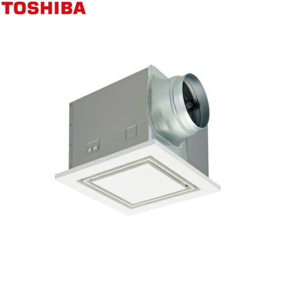 [DVF-T23FVD]東芝[TOSHIBA]ダクト用換気扇フラットインテリアパネルタイプ低騒音形[強弱付(弱特性大風量)]【送料無料】