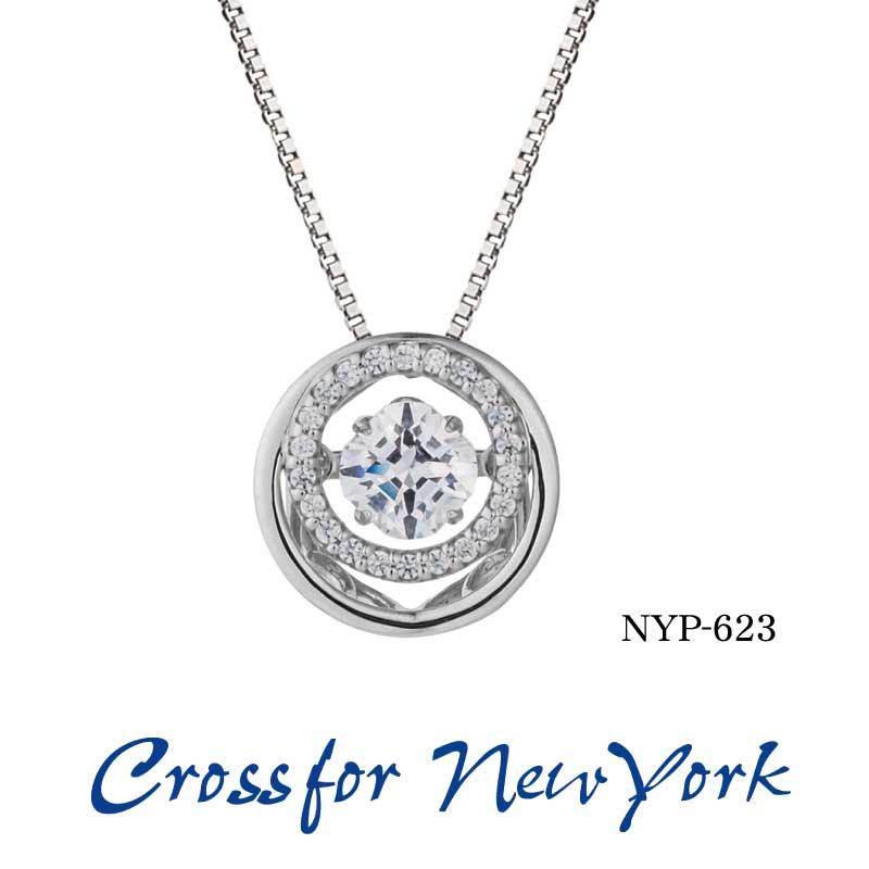 クロスフォーニューヨーク ダンシングストーン ネックレス Crossfor New York  筧 美和子シリーズ クロスフォー ジュエリー 宝石 シルバー nyp623