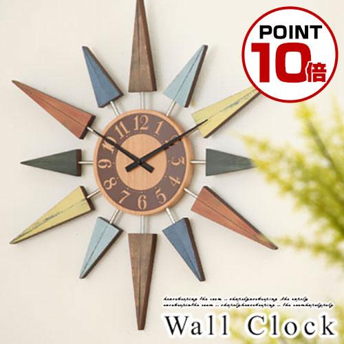 【送料無料】壁掛け時計 デザイン 掛け時計 スイープ 時計 静音 掛時計 木製 壁掛時計 インテリア雑貨 クォーツ ギフト 贈り物 祝い ショップ サロンカフェ プレゼント デザイナーズ おしゃれ 壁掛け時計