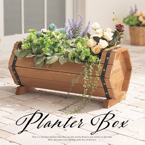 Planter Box Vegetable Garden Flower Pot Gardening Supplies Garden Furniture  Garden Veranda Plant Pot Outdoor Gardening Vase Flower Flower Home Garden  Wood ...