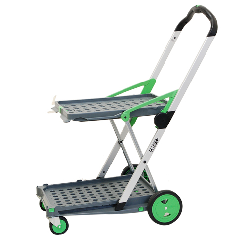 Cart Folding Carts Lightweight 4 Wheel Carrie Bogie Static Sound Container  Box Folding Shopping Cart Luggage Transportation Outdoor Commercial Garden  Sunday ...