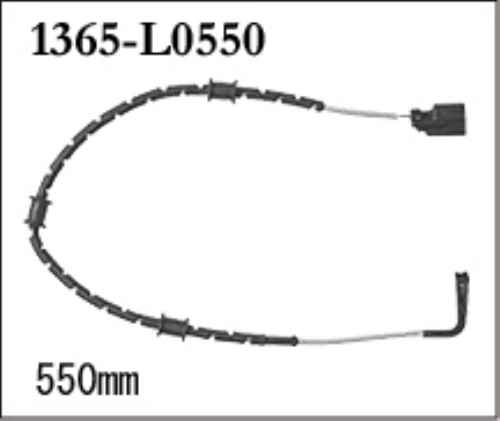 ■DIXCEL(ディクセル) 別売ウェアセンサー(ブレーキパッドセンサー) 1365-L0550 激安魔王