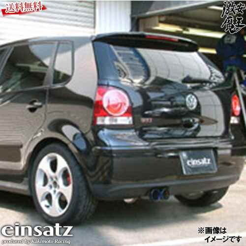 ■einsatz アインザッツ S-622 マフラー フォルクスワーゲン ポロ 9N 9NBJX GTI ターボ BJX ダブル出し デュアル チタン VW W6C3008C 激安魔王