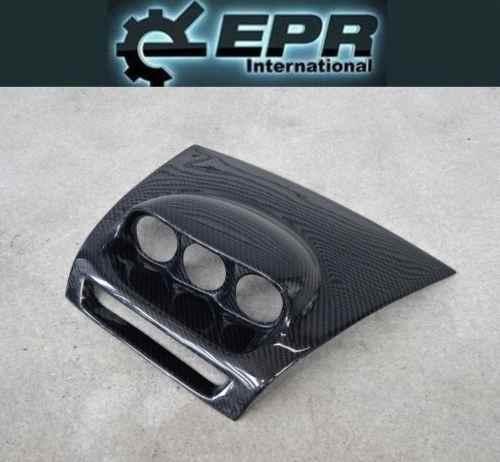 EPR SE3P マツダ MAZDA RX-8 RX8 カーボン 3連 メーターホルダー フード 約61φ ダッシュマウント