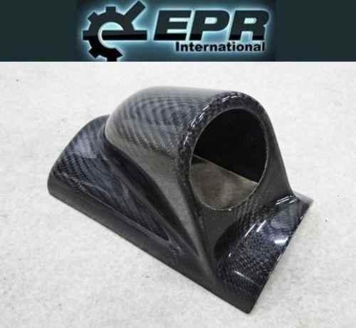 EPR 汎用 カーボン ピラーメーター ホルダー カバー パネル 約53φ ブースト 油温 油圧 水温