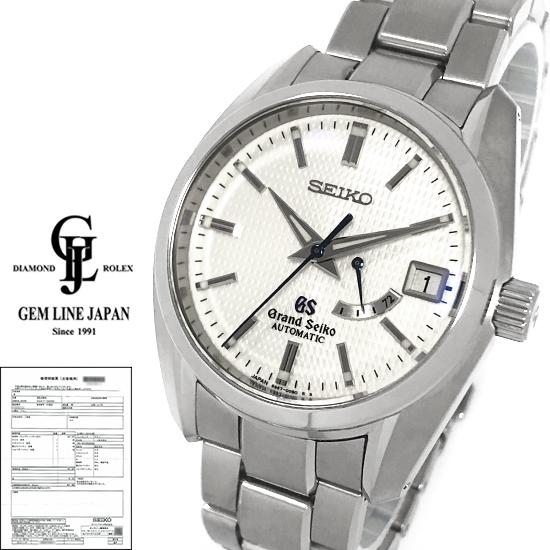 【中古】稀少 グランドセイコー メカニカル 3デイズ SBGL009 限定25本 チタン メンズ 自動巻 腕時計