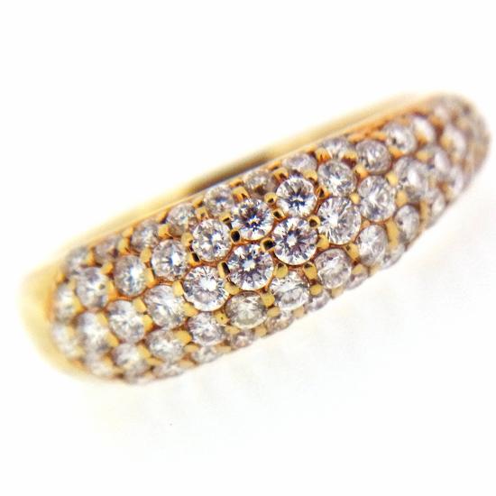 0.6ct ダイヤモンド ピンキー リング K18【中古】