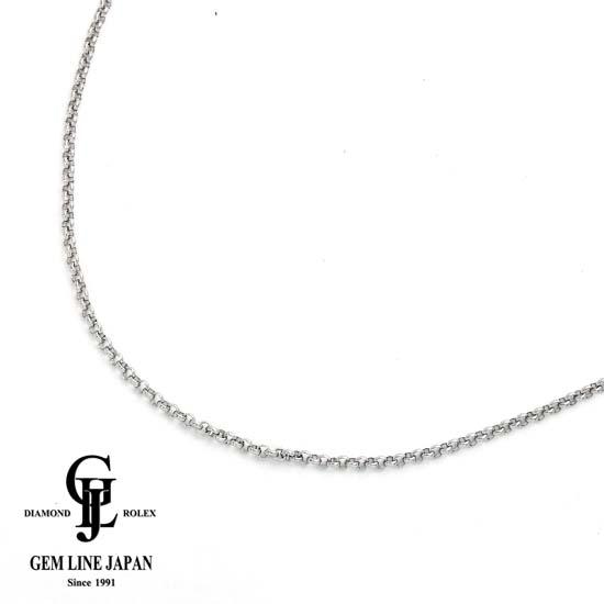 【中古】Pt850 6.2g/45cm 甲丸ネックレス