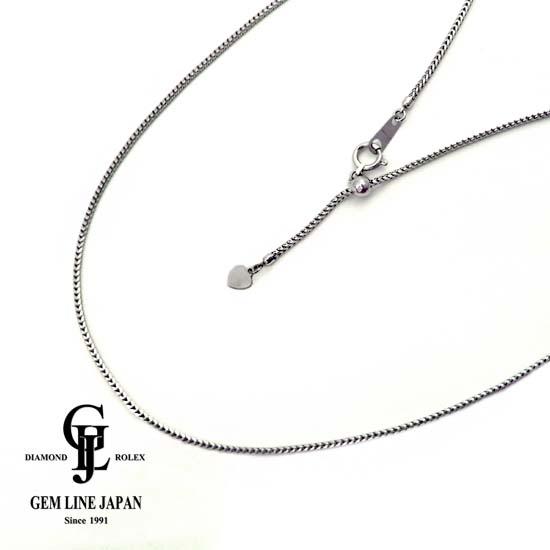最高の品質の 【】Pt850 7.6g/45cm ネックレス, 大きいサイズ通販 XL-エックスエル 706cfe56
