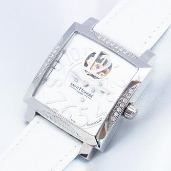 【サントノーレ】オルセーカレミディアムダイヤ 8810201YBD白【未使用品】