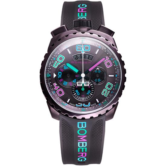 【新品】【BOMBERG】ボンバーグBOLT-68クロマ アイスブラウンBS45CHPBR.049-3.3クォーツ クロノグラフ メンズ 腕時計