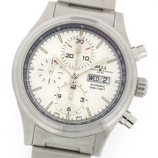 ボールウォッチ ストークマン アイオノスフィア CM1090C ステンレス製 クロノグラフ 自動巻メンズ腕時計【中古】