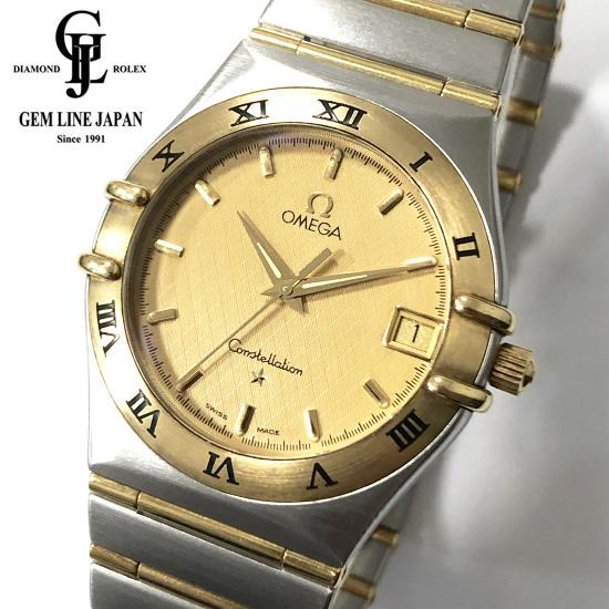 【中古】オメガ 1212.10 コンステレーション YG/SS メンズ クォーツ 腕時計