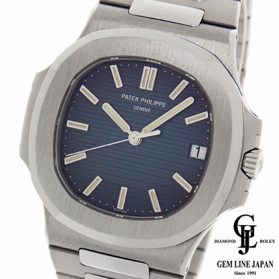 【中古】パテックフィリップ ノーチラス ラージ 5711/1A-001 ブルー文字盤 ステンレス 自動巻き メンズ腕時計【生産終了モデル】