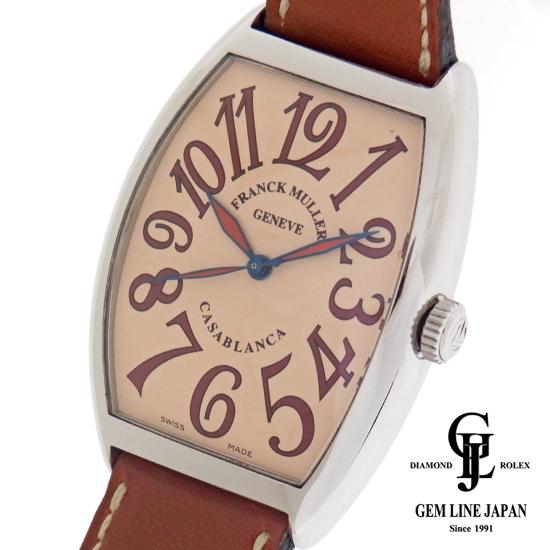 【中古】フランクミュラー カサブランカ サハラ 6850CASA SAHARA 自動巻き メンズ 腕時計