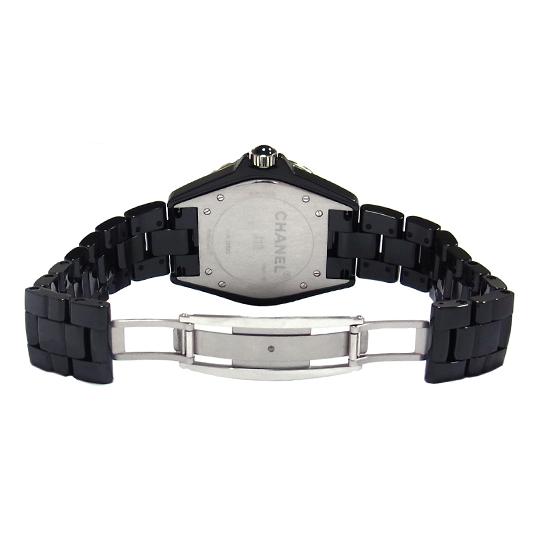 64f2a7f3a12d 【中古】シャネル J12 H2014 ベゼル 純正 ダイヤ 黒セラミック メンズ 腕時計 42mm-メンズ腕時計