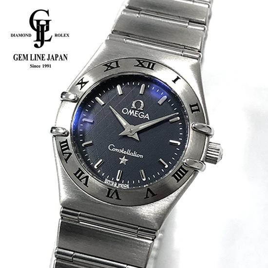 【中古】ギャラ付 オメガ コンステレーション 1562.40.00 レディース クォーツ 腕時計