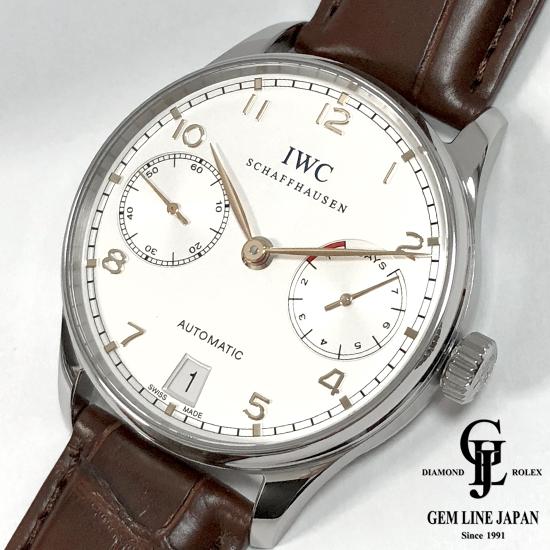 春先取りの 【】美品 IWC ポルトギーゼ オートマティック 7デイズ IW500704 メンズ 腕時計, 腕時計 財布 ショップK&Yu 4d1be1f8