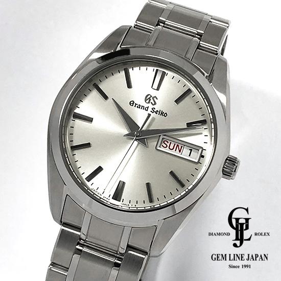 【中古】美品 ギャラ付 GS グランドセイコー SBGT235 クォーツ メンズ 腕時計