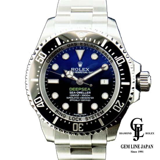【新古品】ロレックス 116660 初期型 シードゥエラー ディープシー Dブルー メンズ 腕時計【中古】