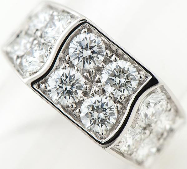 ピアジェ ダイヤモンド リング #50 18金ホワイトゴールド【中古】(2200000161413)