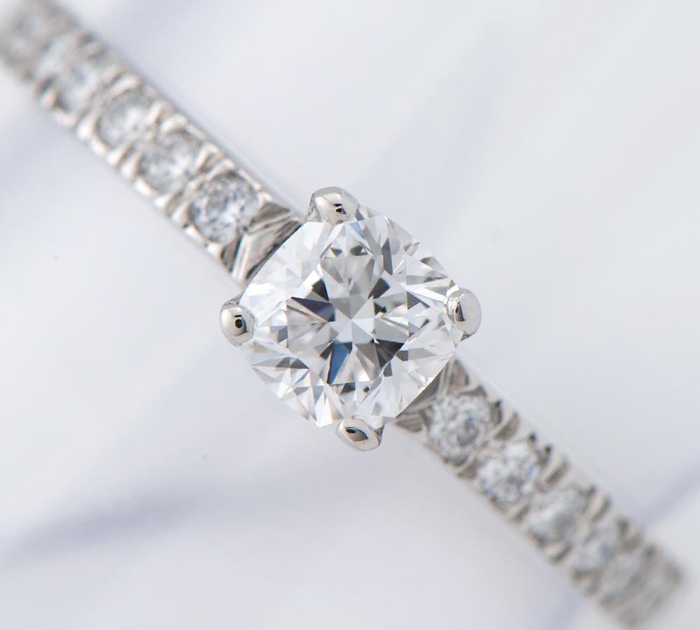 ティファニー ノヴォ ダイヤモンド0.30ct ダイヤモンド プラチナ950 8号 リング・指輪【中古】(2200000221919)