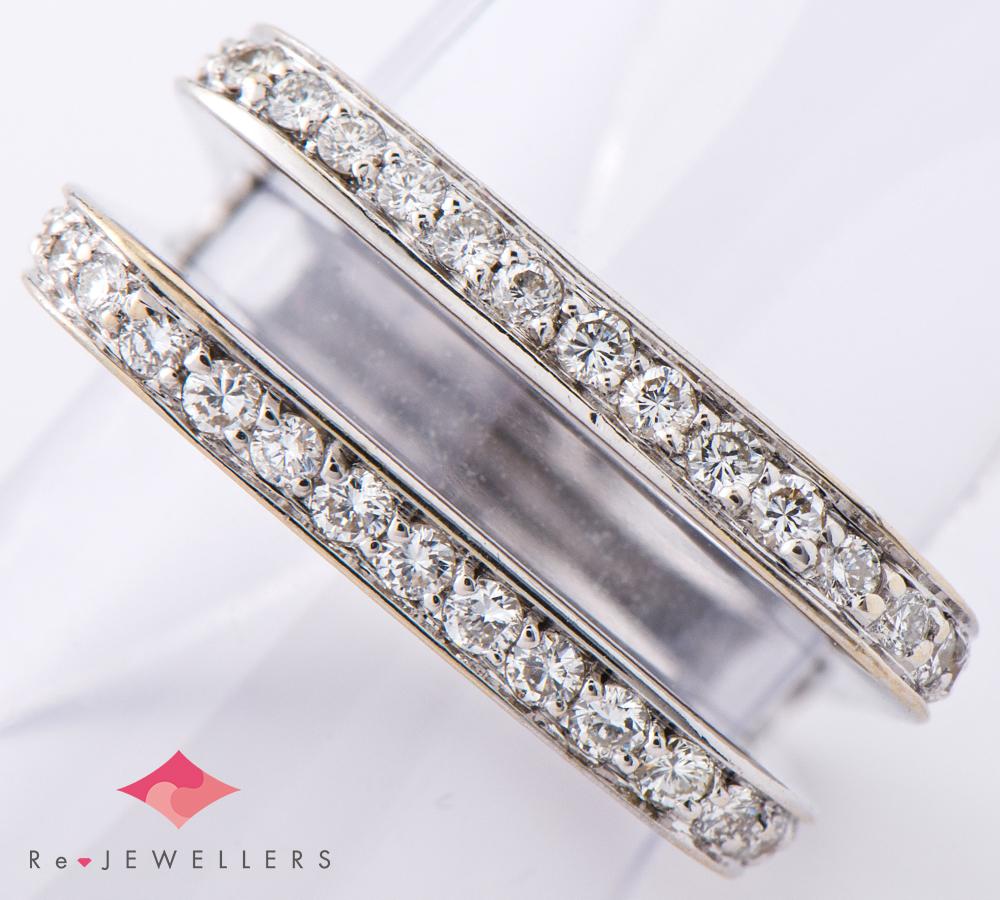 スカヴィア ダイヤモンド 18金ホワイトゴールド 10号 リング・指輪【中古】(2200000263353)