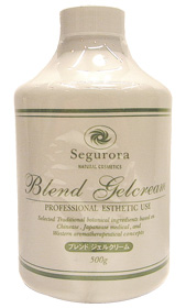 セグロラ ブレンドジェルクリーム お徳用 500g  光触媒トリニティーZ配合全身用クリーム