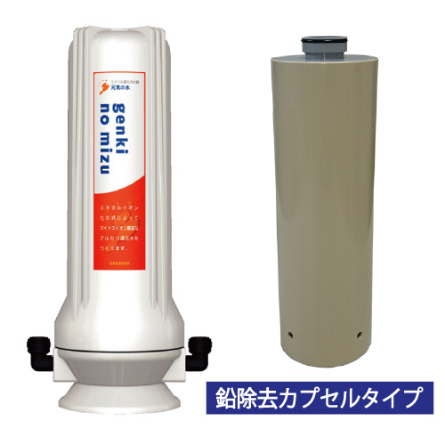 【マラソン中 エントリーP5倍】元気の水シンクタイプ(鉛除去カプセル付)