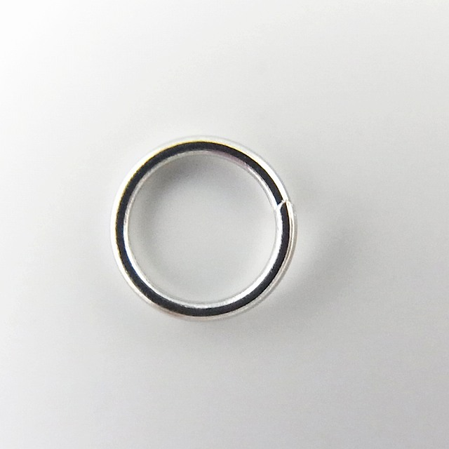 Jump ring 6 mm in total amount 2000 yen, 5000 yen or more at the courier