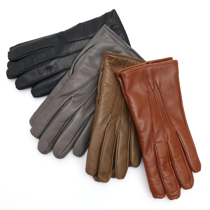 【SALE】MARIO PORTOLANO(マリオポルトラーノ)ナッパレザー グローブ 手袋 4色展開(1363)【メンズ】