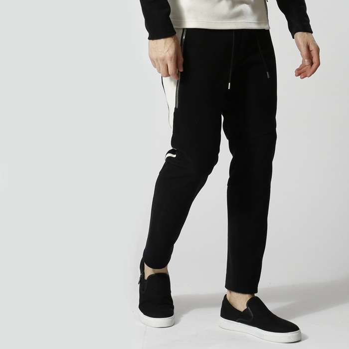 wjk 18w Italy fleece sweat pants 5892mj63【 フリース イージーリブパンツ 】【MENS】
