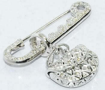 経典 K18WG ダイヤモンド-0.30ct以上 加工,ジュエリー 安全ピン&バッグ リモデル,大阪/カバン デザインブローチ兼ペンダントトップ:ジェムパレス, ジュエリーショップ 真珠美人:3f42cc35 --- daftarfoodizz.id