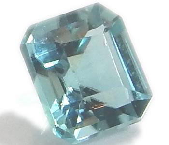 グランディディエライト 0.337ct ルース エメラルドカット 【宝石質】 【良色】 【レアストーン】