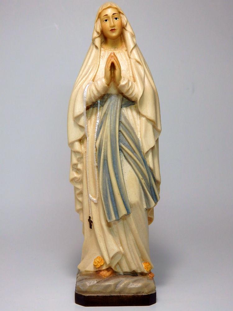 《レーピ》欧州教会使用創業100年木彫りブランド木彫り 聖母マリア像「 ルルド ルルド 」フルカラー 」フルカラー C(手彩色)高さ15cm 保証書付【イタリア】, 姶良町:5b0c4ddd --- sunward.msk.ru