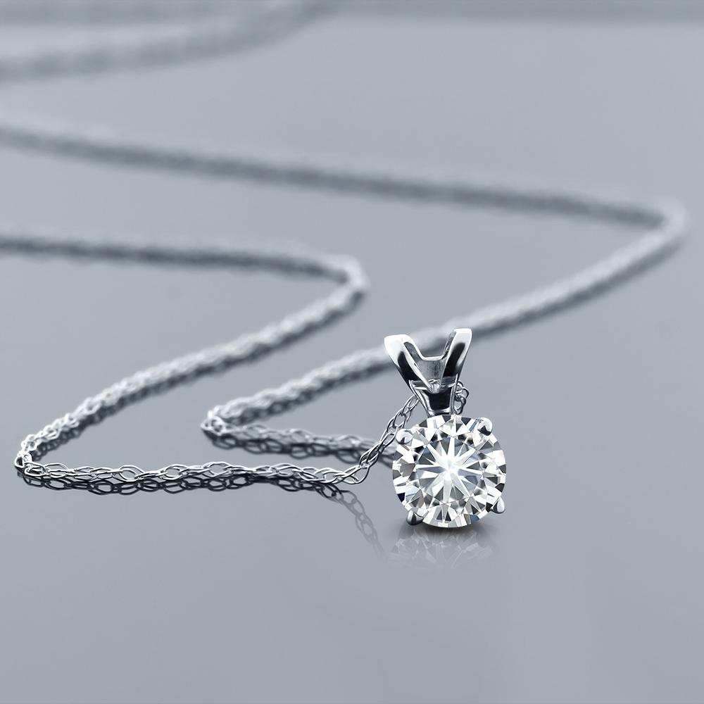 0 5カラット 天然 ダイヤモンド ネックレス レディース ペンダント 14金 ホワイトゴールド K14 ブランド おしゃれ 一粒 ダイヤ 小粒 シンプル 華奢 細身 天然石 4月 誕生石 プレゼント 女性 彼女 妻 誕生日Tl31FKJc