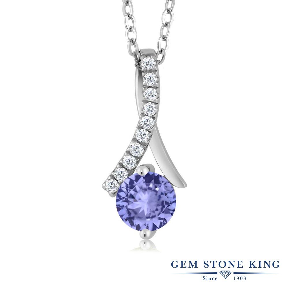 【クーポンで7%OFF】 Gem Stone King 1.05カラット シルバー925 ネックレス ペンダント レディース 天然石 プレゼント 女性 彼女 誕生日 クリスマス