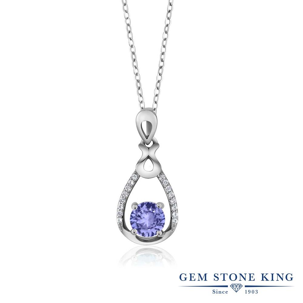 【クーポンで7%OFF】 Gem Stone King 0.99カラット シルバー925 ネックレス ペンダント レディース 天然石 プレゼント 女性 彼女 誕生日 クリスマス
