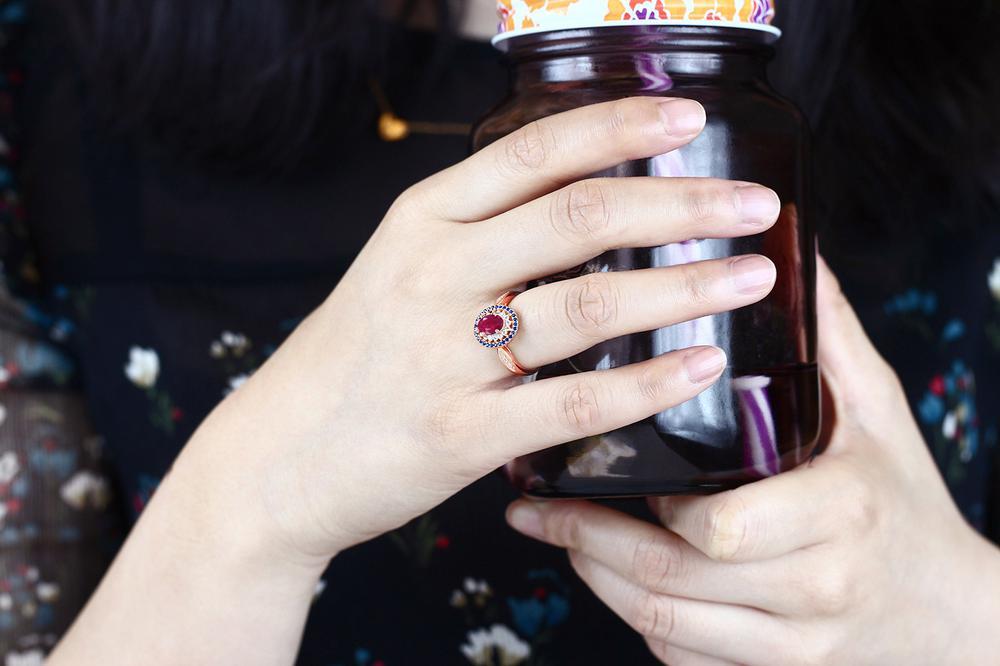 1 62カラット 天然 ルビー 指輪 レディース リング ピンクゴールド 加工 シルバー925 ブランド おしゃれ 赤 大粒 スリーストーン 天然石 7月 誕生石 プレゼント 女性 彼女 妻 誕生日rodxBeWC
