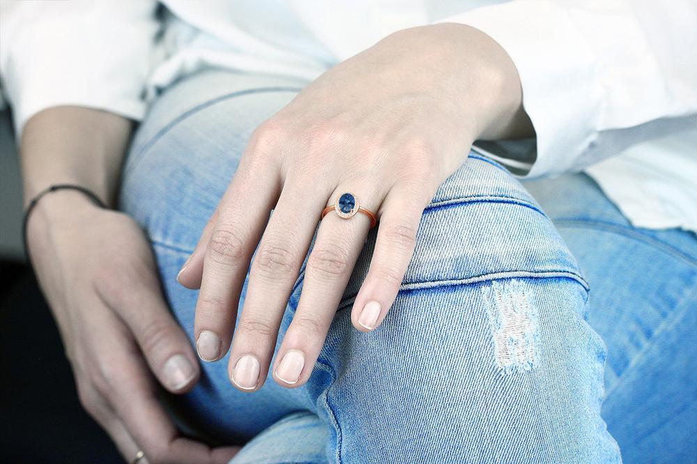 1 31カラット 天然 ミスティックトパーズサファイアブルー指輪 レディース リング ダイヤモンド ピンクゴールド 加工 シルバー925 ブランド おしゃれ オーバル 青 大粒 シンプル ソリティア 天然石 金属アレルギー対応XiTOPkZu