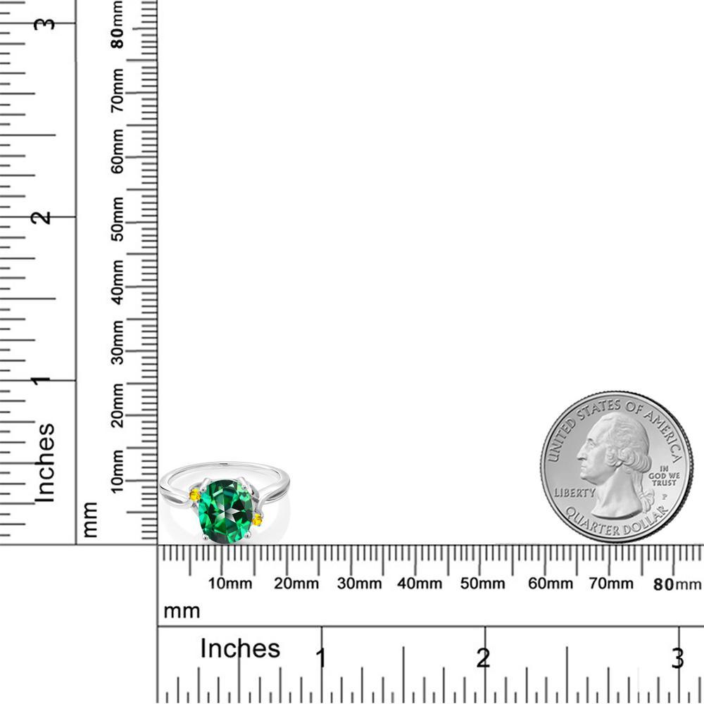 3 06カラット 天然石トパーズ レインフォレスト スワロフスキー 天然石シリーズサファイア イエローシルバー925 指輪 レディース リング 大粒 一粒 シンプル 天然石 金属アレルギー対応 誕生日プレゼントnO8PkXNw0